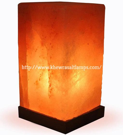Khewra Cubiod Salt Lamp 1