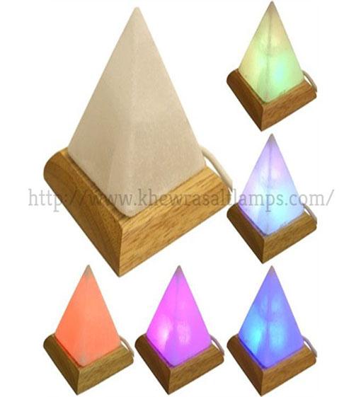 Khewra Pyramid Usb Salt Lamp 01