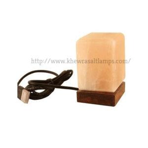 Cube USB(MINI) Salt Lamp – MultiColor