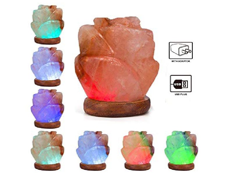 Flower Salt Lamp (USB)