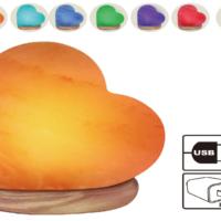 Khewra Heart USB Lamp