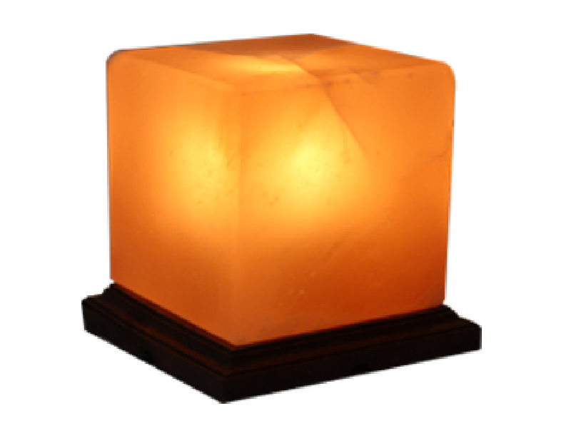 Cube Salt Lamp (Crafted)