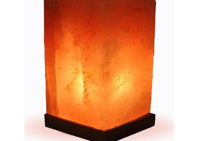 Cuboid Salt Lamp