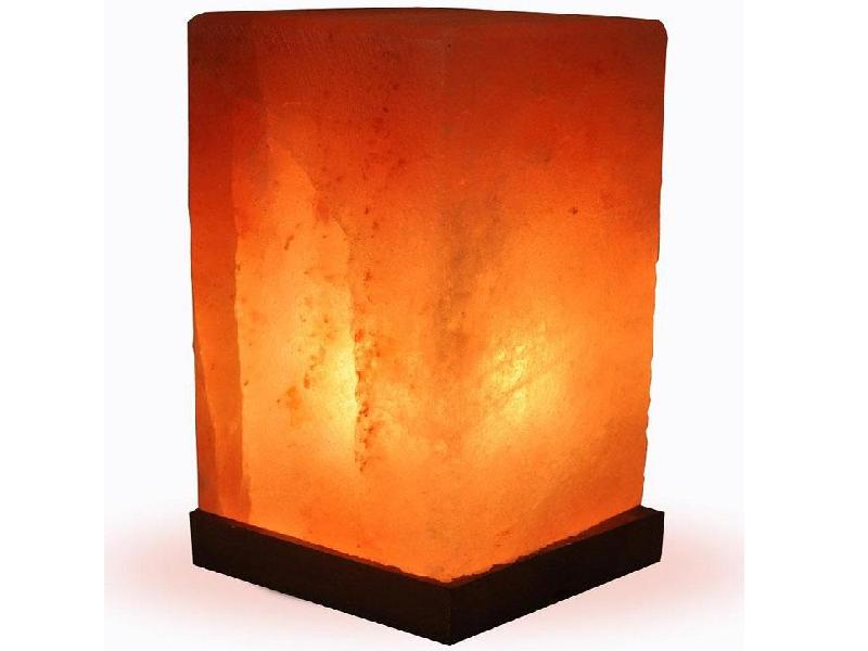 Cuboid Salt Lamp (Crafted)