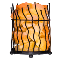 Cylinder Iron Salt Basket Lamp