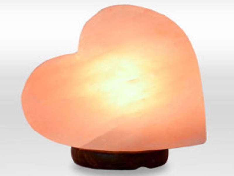 Heart Salt Lamp (Crafted)