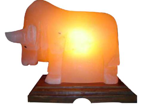 Bull Salt Lamp (HandiCraft)