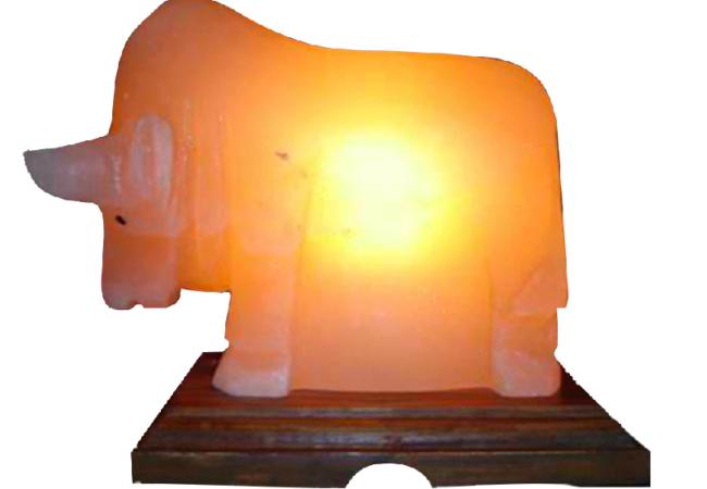 Khewra Bull Salt Lamp