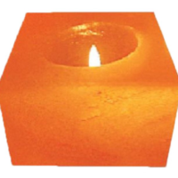Khewra Cube Candle Holders