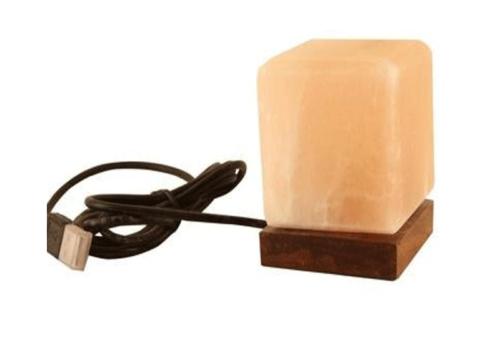 Cube Shape Salt Lamp (USB)