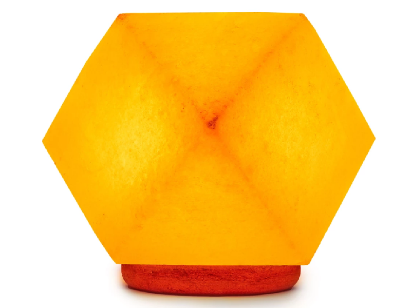 Diamond Salt Lamp (Crafted)