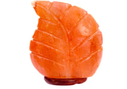 Leaf Shape Salt Lamp (USB)