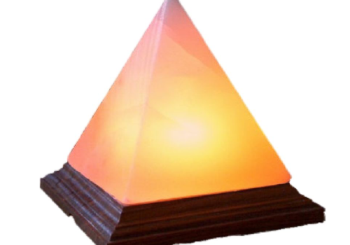 Pyramid Salt Lamp (Crafted)