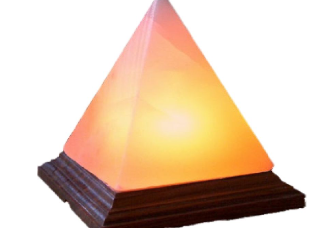 Khewra Pyramid Salt Lamp