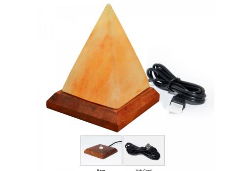 Pyramid Salt Lamp (USB)