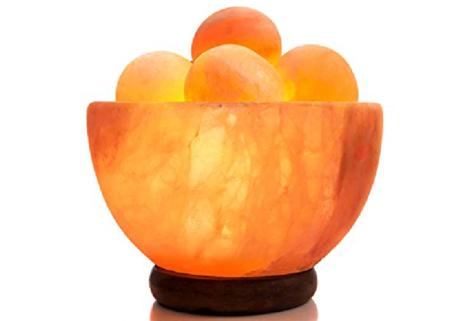 Khewra Salt Bowl With Balls