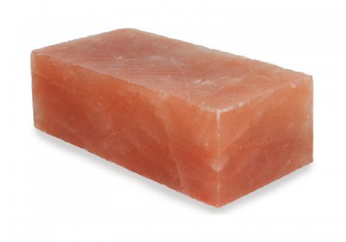 Natural Salt Brick (2x4x8 Inches)