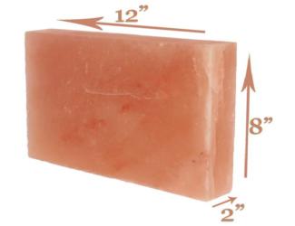 Rectangle Salt Tile (2x8x12 Inches)